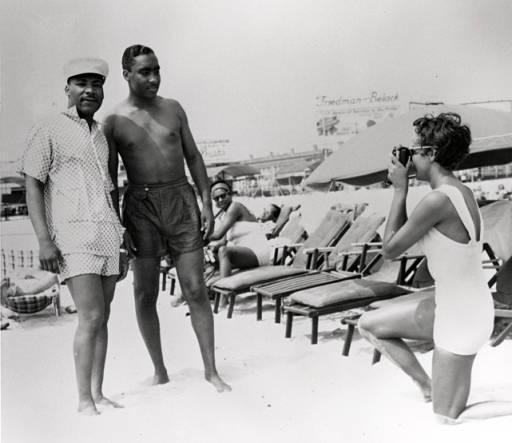 Dr. Martin Luther King Jr. on Chicken Bone Beach