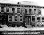 "Hebrew Sunday School Society; old building; """"Hebrew Education Society Industrial..."
