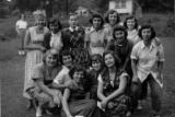 Camp Moledet.  1950.  Female counselors.  The largest collection of pictures shows scenes of Camp...