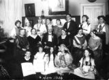 Johanna Lovinger-Meyer and family members in 1923 Berlin.   From the collection of Johanna...