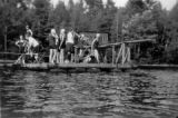 Camp Walden.  Denmark, Maine.  Ethel Katzenstein attended the girl's camp in the 1920s.  Campers...