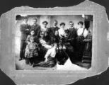 Ephraim Greenfield Family Photographs.  Individuals unidentified.