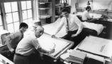 Architects at their desks