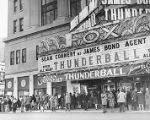 "Waiting to see ""Thunderball"" at the Fox Theater"