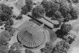 Aerial photograph, Playhouse in the Park