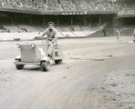 Groundskeeper at Connie Mack Stadium