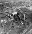 Aerial photograph of Philadelphia Coke Company plant
