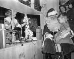Santa Claus makes early apperance in city