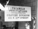 Triangle Publications Incorporated storefront