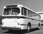 Finished bus manufactured by J.G. Brill Co.