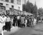 Civil rights demonstrators at Girard College