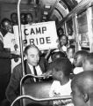 Governor William Scranton sees off kids to Camp Pride