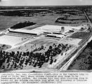 Aerial view of Campbell Soup Co. factory in Paris, Texas