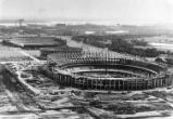 Construction of Veterans Stadium