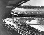 Interior of Veterans Stadium