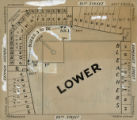 Diagram of the Lower seats in Shibe Park