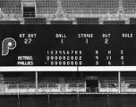 Phillies vs. Astros scoreboard