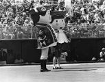 "Phillies mascots ""Philadelphia Phil"" and ""Philadelphia Phillis"""