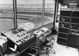 Computer room inside Veterans Stadium