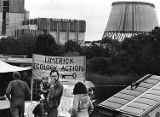 Banners at Limerick nuclear plant