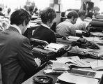 Writing on typewriters