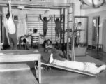 Students exercising in remedial gym