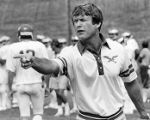 Vermeil, Philadelphia Eagles Coach, pointing