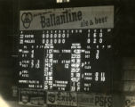Scoreboard at Shibe Park