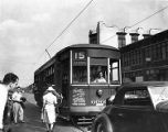 Only trolley car in operation