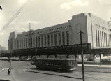 30th Street Post Office with the Market-Frankford elevated and trolley lines