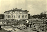 Excavation for Board of Education building