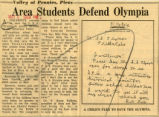Area students defend Olympia