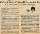 Kids - a tenant's one unforgivable sin