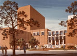 Architectural rendering of Annenberg Hall