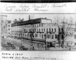 Broad Street before the construction of Conwell and Carnell Halls