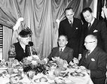 Temple University's  Founder's Day dinner 1947