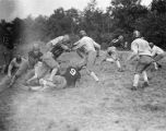 Temple University football team in training, 1920's