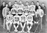 Temple Pharmacy School basketball squad, 1928/29