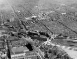 North Philadelphia aerial view including Reading Railroad