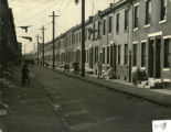 General view of a Philadelphia neighborhood