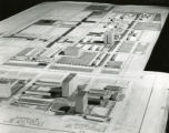 Architectural model of Richard Allen Homes