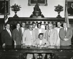 Signing of the 1955 Philadelphia housing code