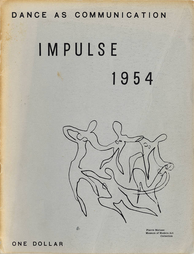 Impulse: annual of contemporary dance 1954 - Impulse Dance